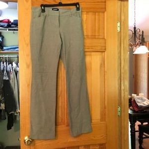 Express editor barely boot size 4R dress pants